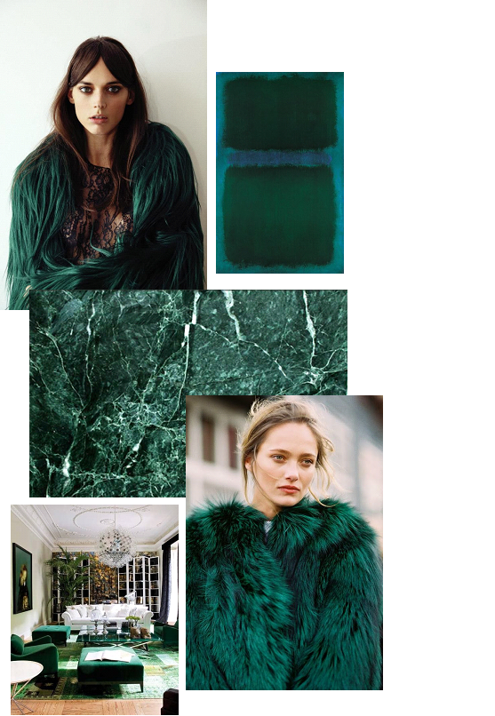 emerald¨collage